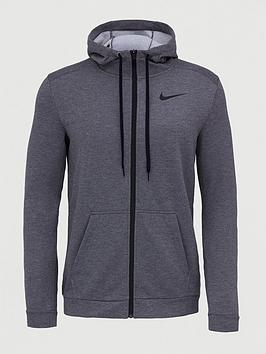 Nike Nike Dry Fleece Full Zip Hoodie - Charcoal Picture