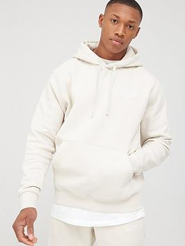 Nike Nike Sportswear Club Over Head Hoodie - Stone Picture
