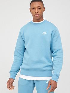 nike-sportswear-club-crew-blue