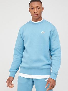 Nike Nike Sportswear Club Crew - Blue Picture