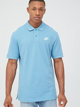 Nike Nike Sportswear Ce Matchup Pique Polo - Blue Picture