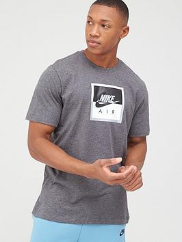Nike Nike Sportswear Air Short Sleeve T-Shirt - Charcoal Heather Picture