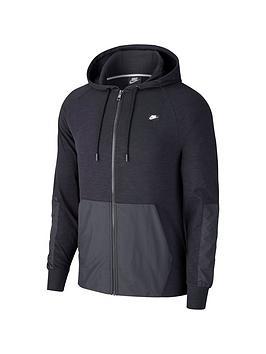 Nike Nike Sportswear Me Full Zip Hoodie - Black Picture