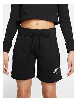 Nike Nike Girls Air Shorts - Black Picture