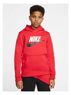 nike-boys-club-hoodie-red