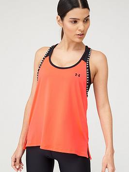 Under Armour Under Armour Knockout Tank Top - Red/Black Picture