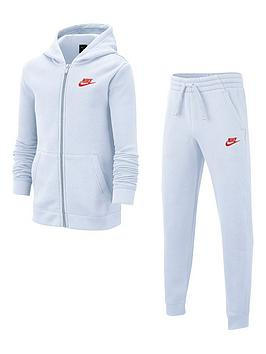 Nike Nike Sportswear Older Boys Core Tracksuit Jogger Set - Grey Picture