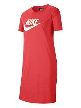 Nike Nike Girls Futura T-Shirt Dress - Red Picture
