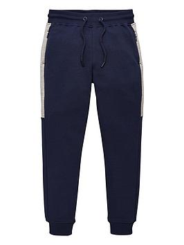 V by Very V By Very Boys Panel Zip Pocket Joggers - Navy Picture