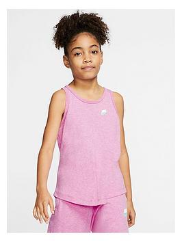 Nike Nike Girls Jersey Tank Top - Pink Picture