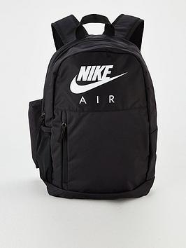 Nike Nike Childrens Elemental Backpack - Black White Picture