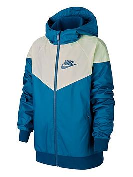 Nike Nike Boys Light Weight Jacket - Blue Picture