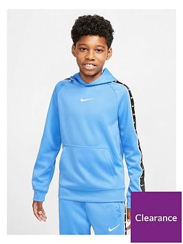 nike-sportswear-older-boys-swoosh-tape-hoodie-blue