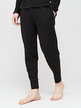 Polo Ralph Lauren Polo Ralph Lauren Lightweight Cuffed Lounge Pants - Black Picture
