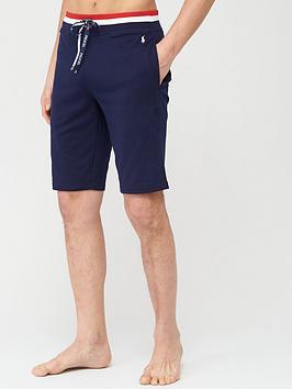 Polo Ralph Lauren   Contrast Waistband Lounge Shorts - Cruise Navy