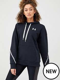 under-armour-wordmark-fleece-hoodie-black
