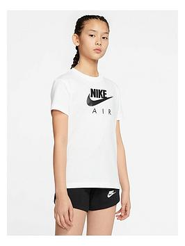 Nike Nike Girls Air Oversized T-Shirt - White Picture