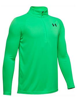 under-armour-tech-20-half-zip-green