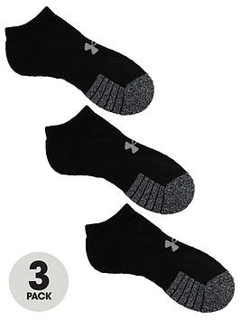 under-armour-heatgearreg-no-show-socks-3-pack-blacknbsp