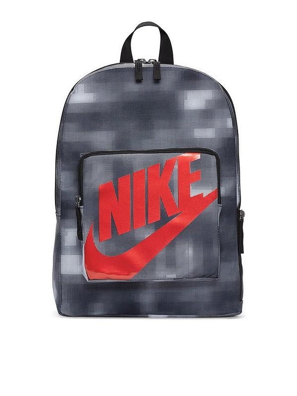 siete y media Publicación col china  Nike Classic Backpack - Black/Red | littlewoods.com
