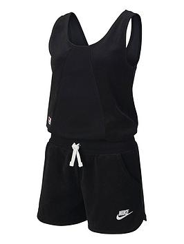 Nike Nike Nsw Girls Heritage Romper - Black Picture