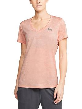 Under Armour Under Armour Tech Twist Top - Light Pink Picture