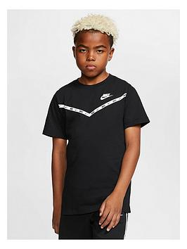 Nike Nike Boys Chevron T-Shirt - Black Picture