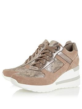 Dune London Dune London Elouera Trainer - Taupe Picture