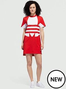 adidas-originals-large-logo-dress-rednbsp