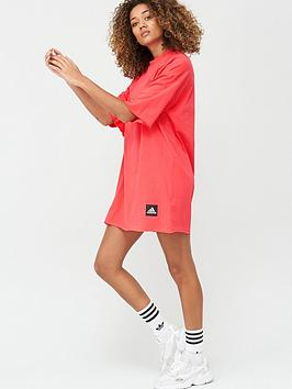 Adidas Adidas Recycleco T-Shirt Dress - Pink Picture