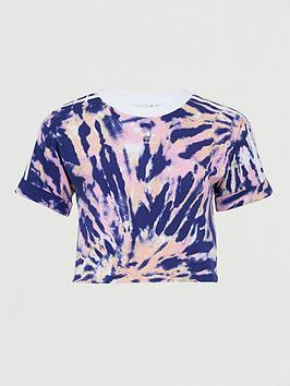 adidas Originals Adidas Originals Psychedelic Summer Crop Top - Multi Picture