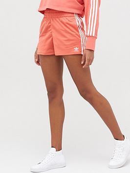 adidas-originals-3-stripe-shorts-rednbsp