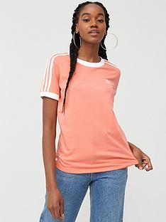 adidas-originals-3-stripe-tee-pink