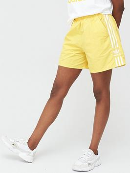 adidas Originals  Adidas Originals 3 Stripe Short - Yellow