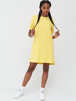 adidas Originals Adidas Originals Trefoil Dress - Yellow Picture