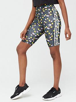 adidas Originals Adidas Originals All Over Print Cycling Shorts - Multi Picture