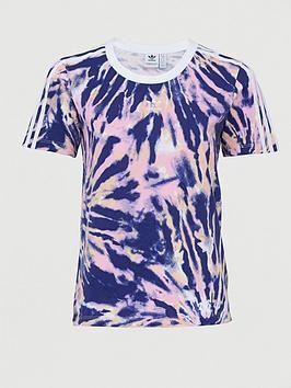 adidas Originals Adidas Originals Psychedelic Summer Short Sleeve T-Shirt  ... Picture