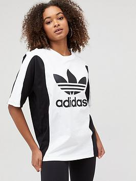 adidas Originals Adidas Originals Boyfriend T-Shirt - Black/White Picture