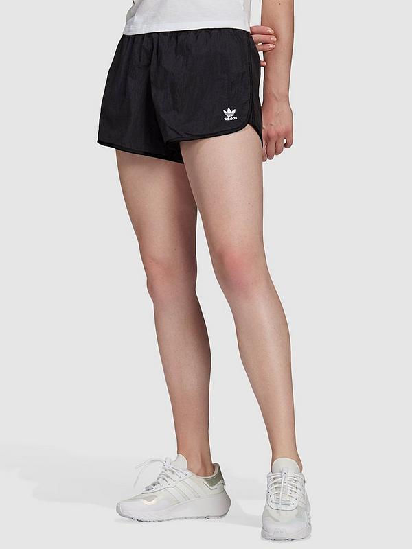adidas Originals 3 Stripe Short - Black | littlewoods.com