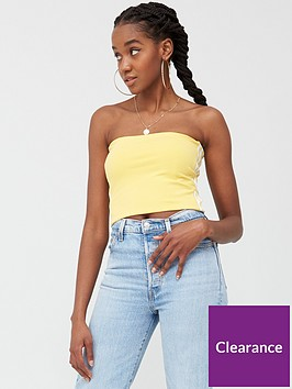 adidas-originals-tube-top-yellownbsp