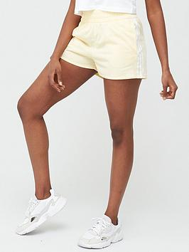 adidas Originals Adidas Originals 3 Stripe Shorts - Yellow Picture