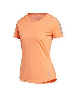 Adidas Adidas Own The Run T-Shirt  - Orange Picture