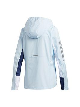 Adidas   Own The Run Jacket - Blue