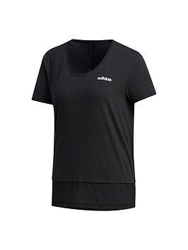 Adidas   Essentials T-Shirt - Black