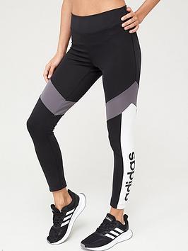 Adidas Adidas D2M 7/8 Leggings - Black Picture