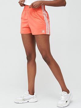 adidas Originals  Adidas Originals 3 Stripe Shorts - Pink