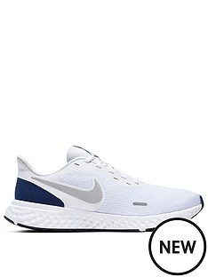 nike-revolution-5-whitesilver