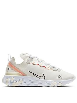 Nike Nike React Element 55 - Off White Picture
