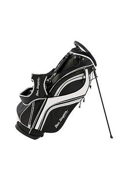 Ben Sayers   Dlx Stand Bag Black/White