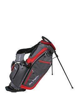 Ben Sayers   Xf Lite Stand Bag - Grey/Red